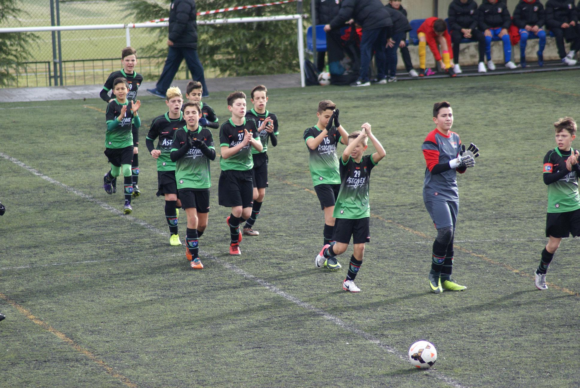 Fotos del partido Club Atlético de Madrid E 5-0 Infantil C