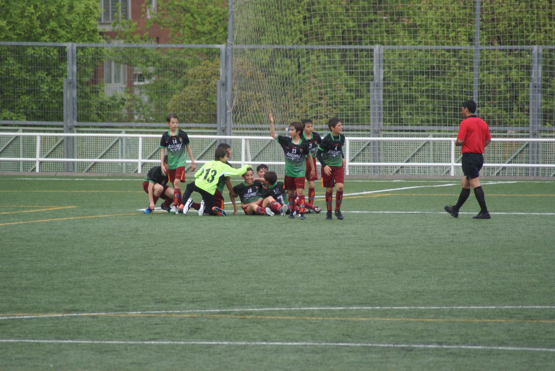 Fotos del partido de liga Villaverde Bajo A 1 – 2 EDM Alevín A