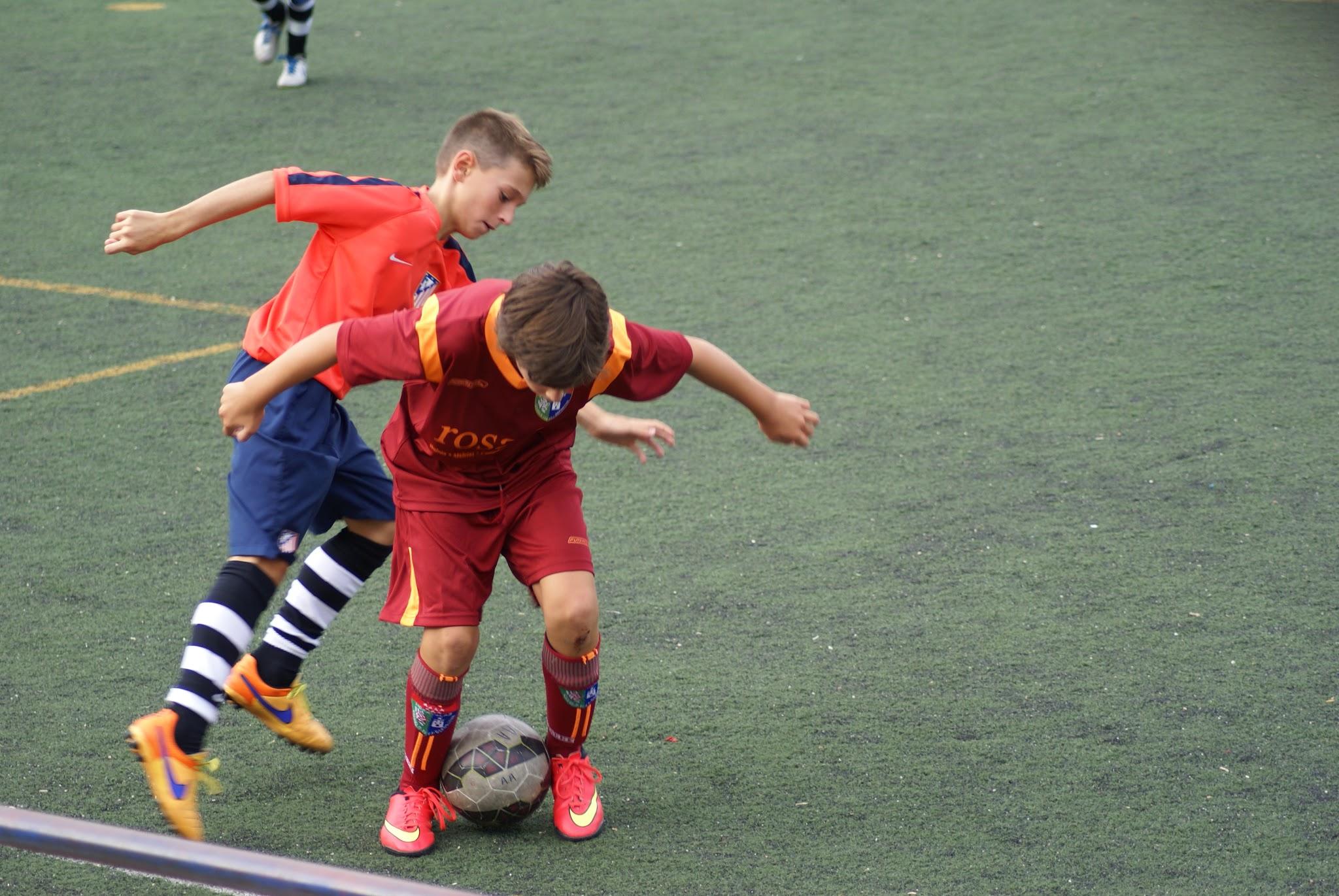 Fotos del partido amistoso EDM Alevín A 1 – 5 Atlético de Madrid A
