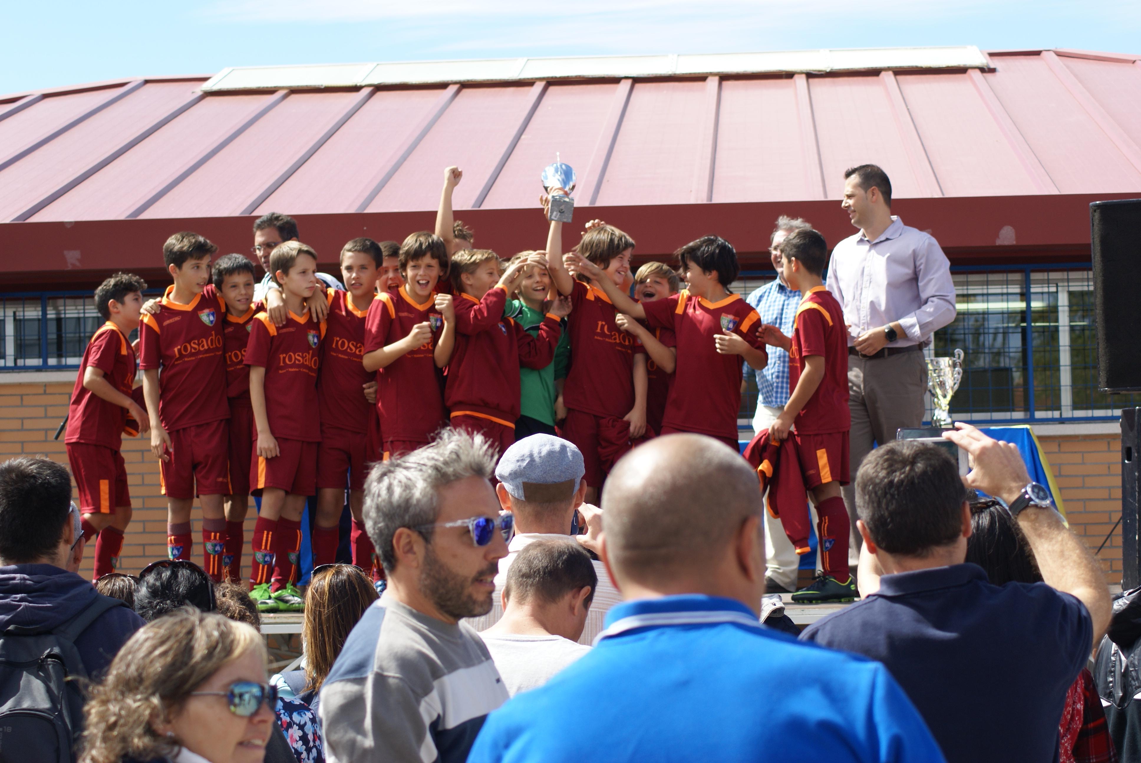 Fotos del Alevín A en el Torneo Juanito