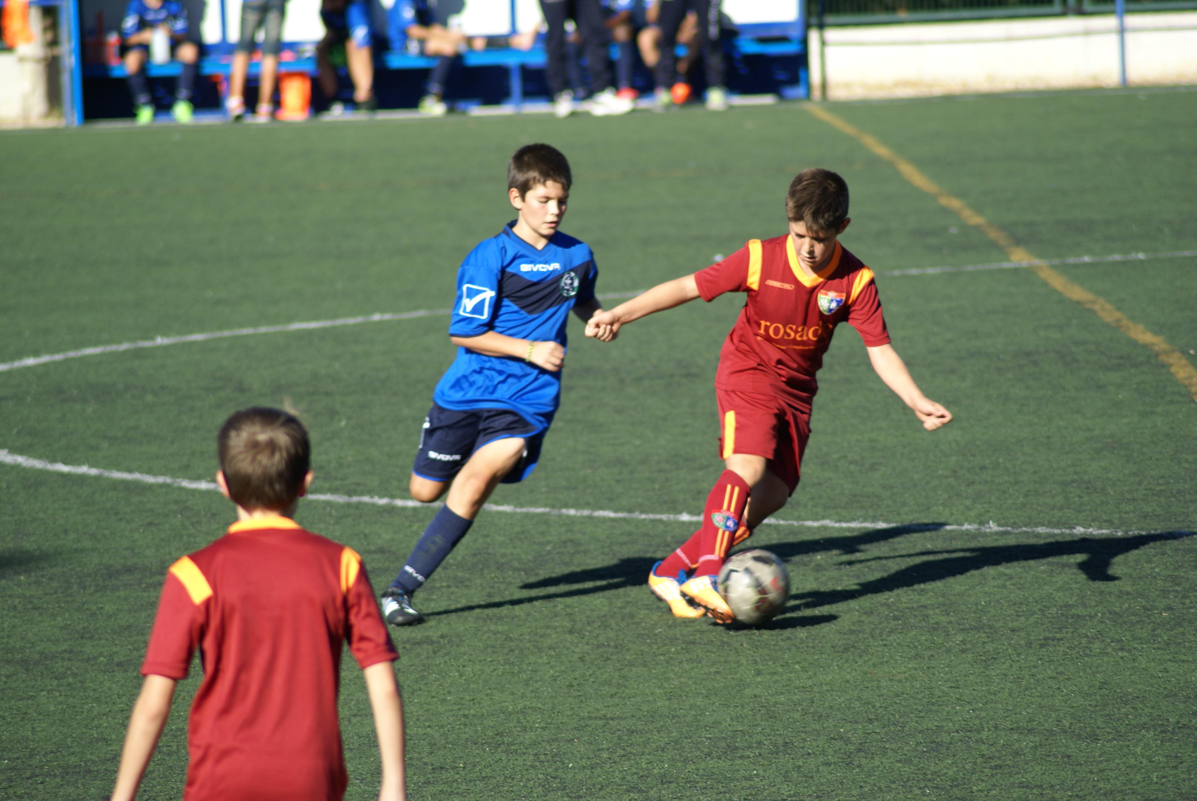 Fotos del partido amistoso EDM Alevín A 5 – 1 EMF Aluche A