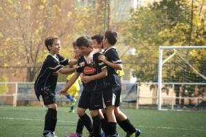 Celebrando un gol
