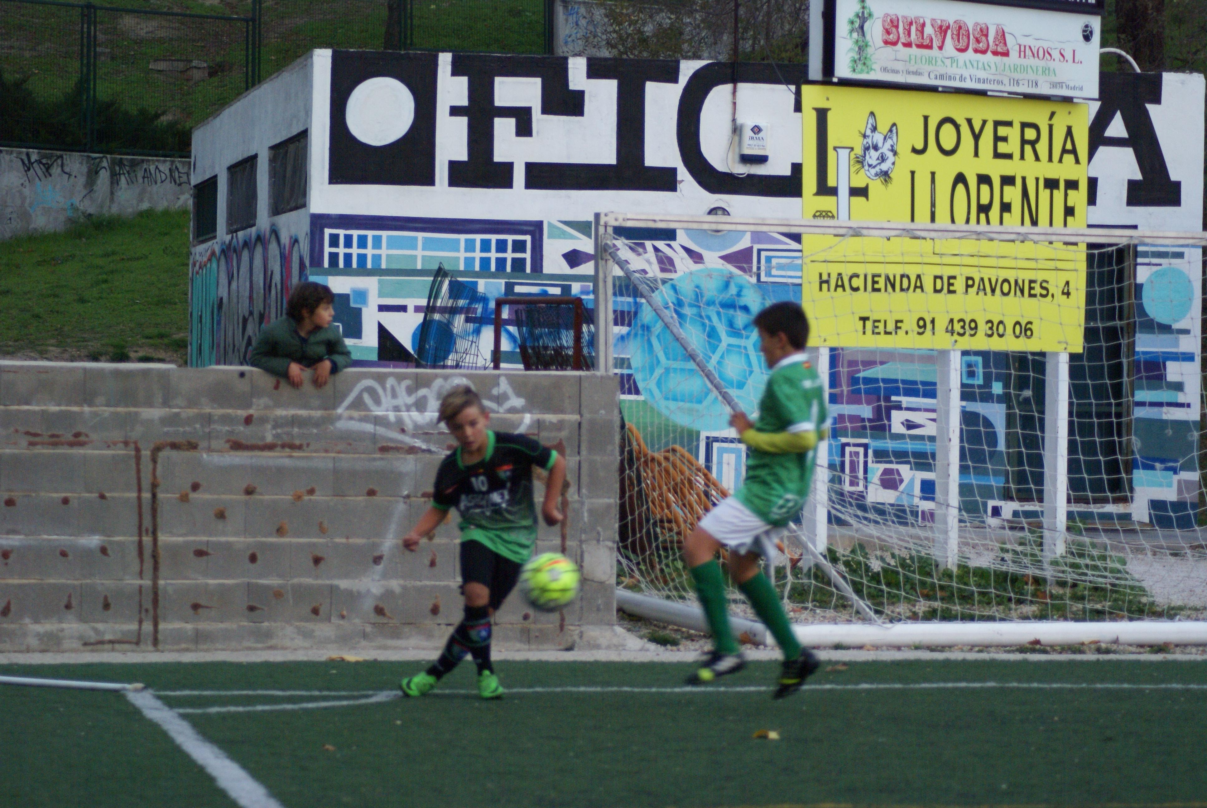 Fotos del partido de liga EDM Alevín A 6 -0 EMF Aluche A