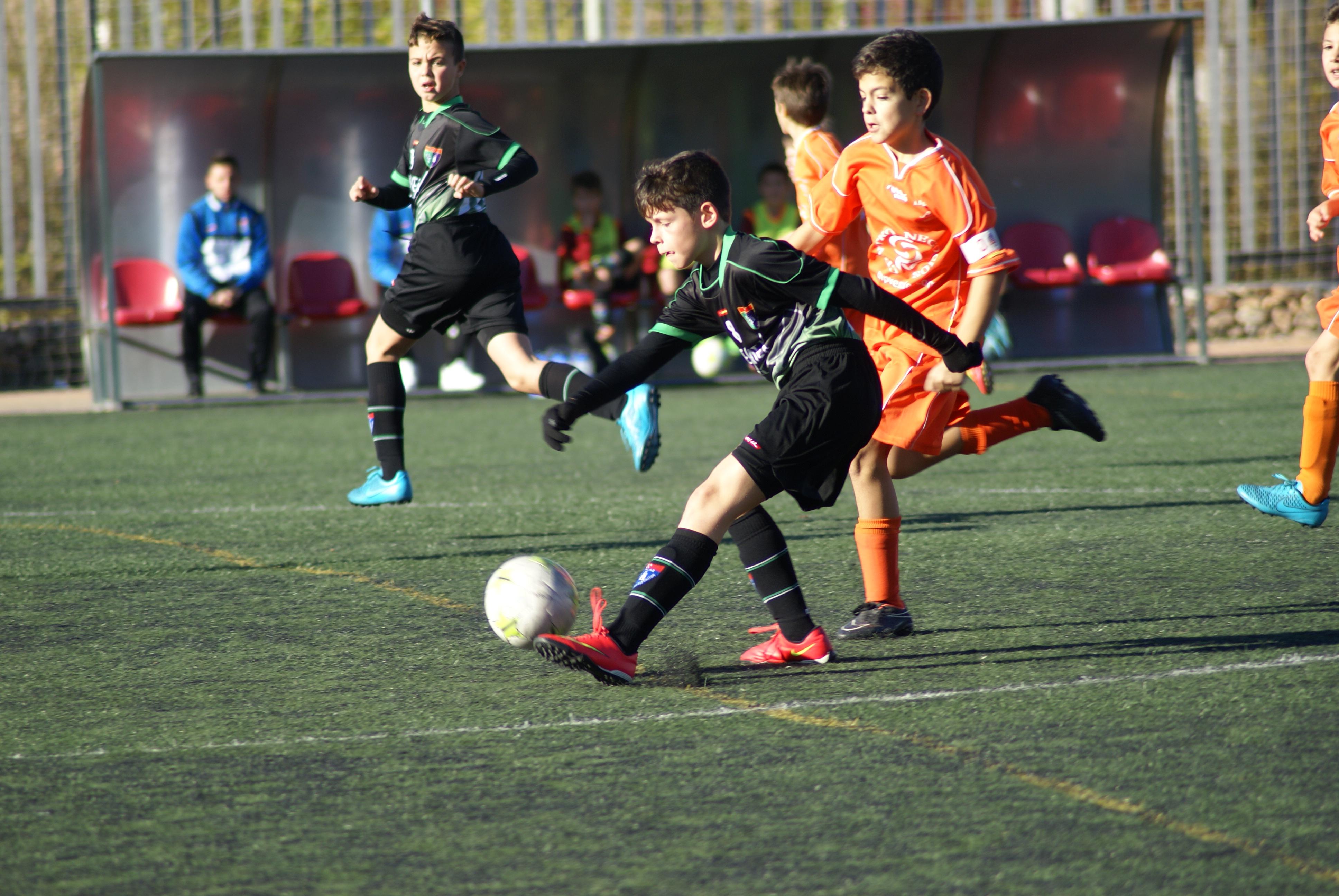 Fotos del partido de liga AD Gigantes A 1 – 3 EDM Alevín A