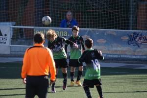 Fotos del partido de liga Alevín B - Gredos San Diego Moratalaz