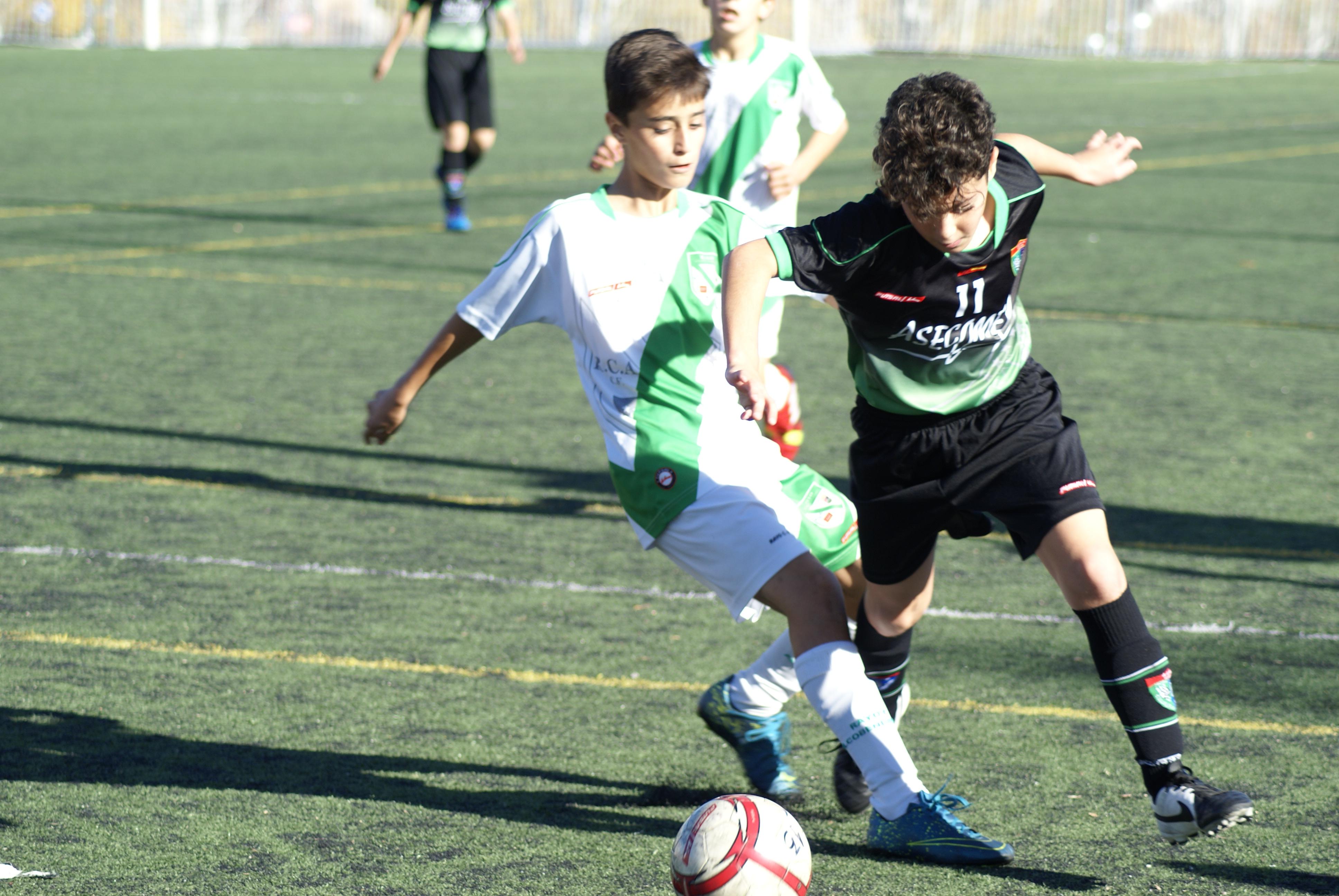 Fotos del partido amistoso Alcobendas 1 – 1 EDM Alevín A