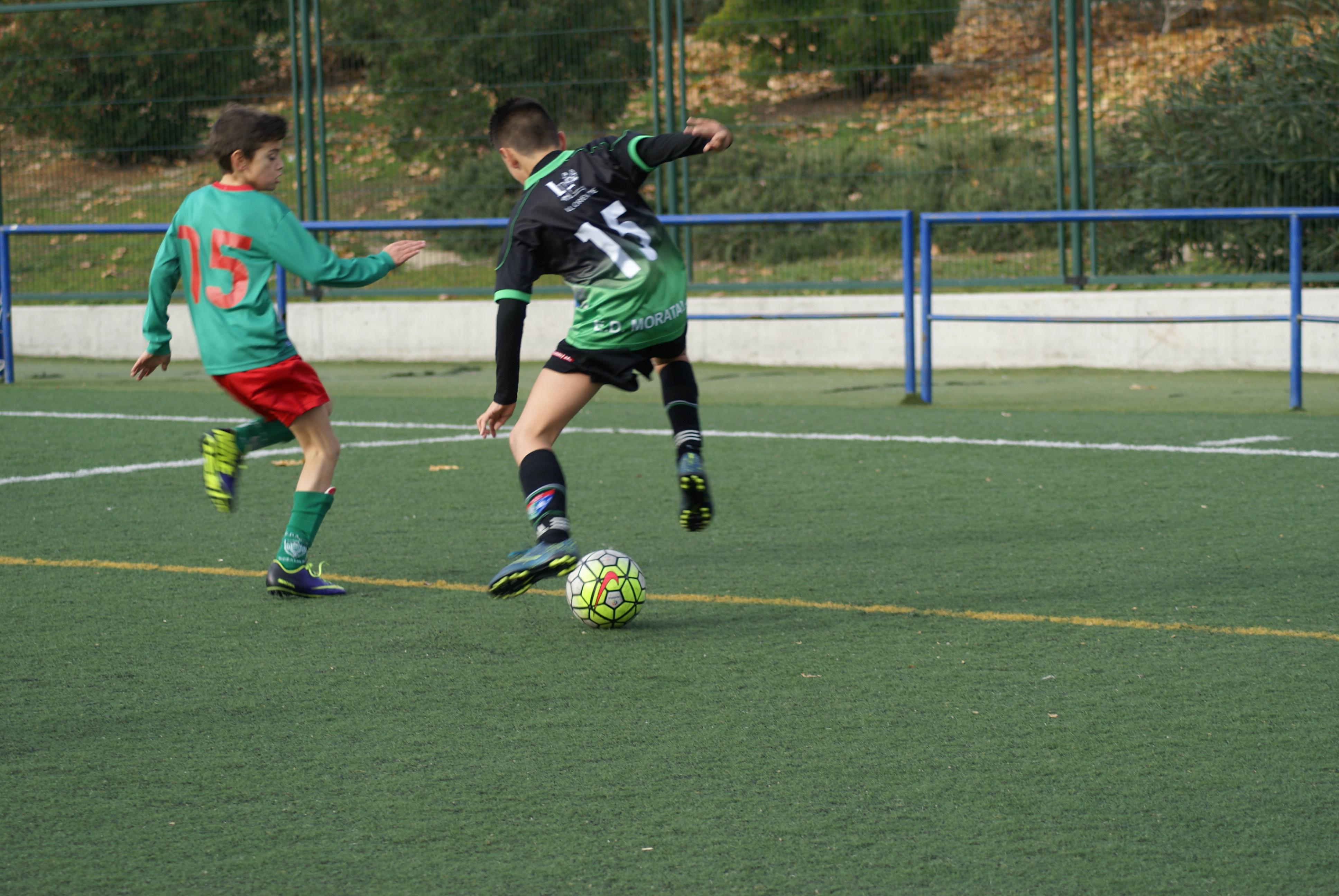 Fotos del partido de liga EDM Alevín A 2 – 0 EMF Águilas Moratalaz A