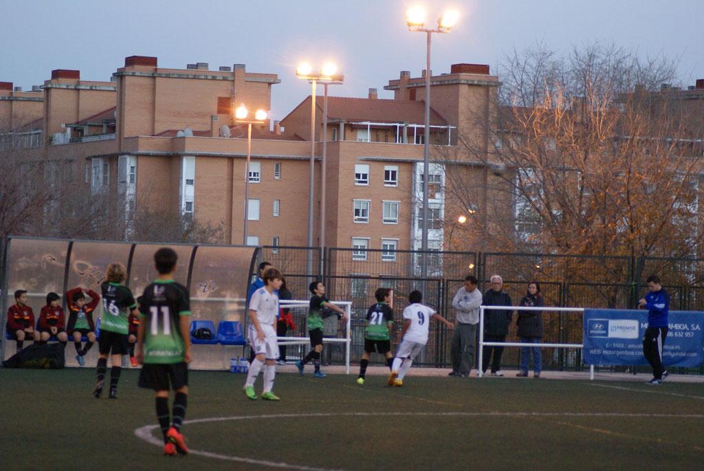 Crónica y fotos del partido de liga EDM Alevín B 4 – 0 CD Canillas D