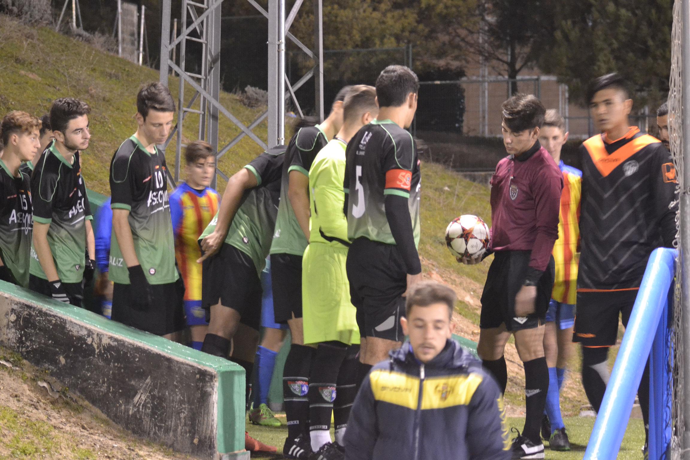 Crónica del partido Juvenil D 3-0 CD Los Yébenes-San Bruno C
