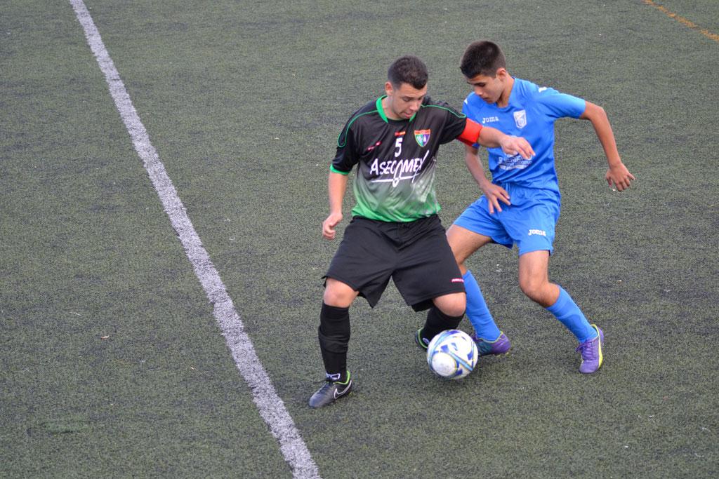 Crónica y fotos del partido de liga AD Villa Rosa A 1 – 4 EDM Cadete C