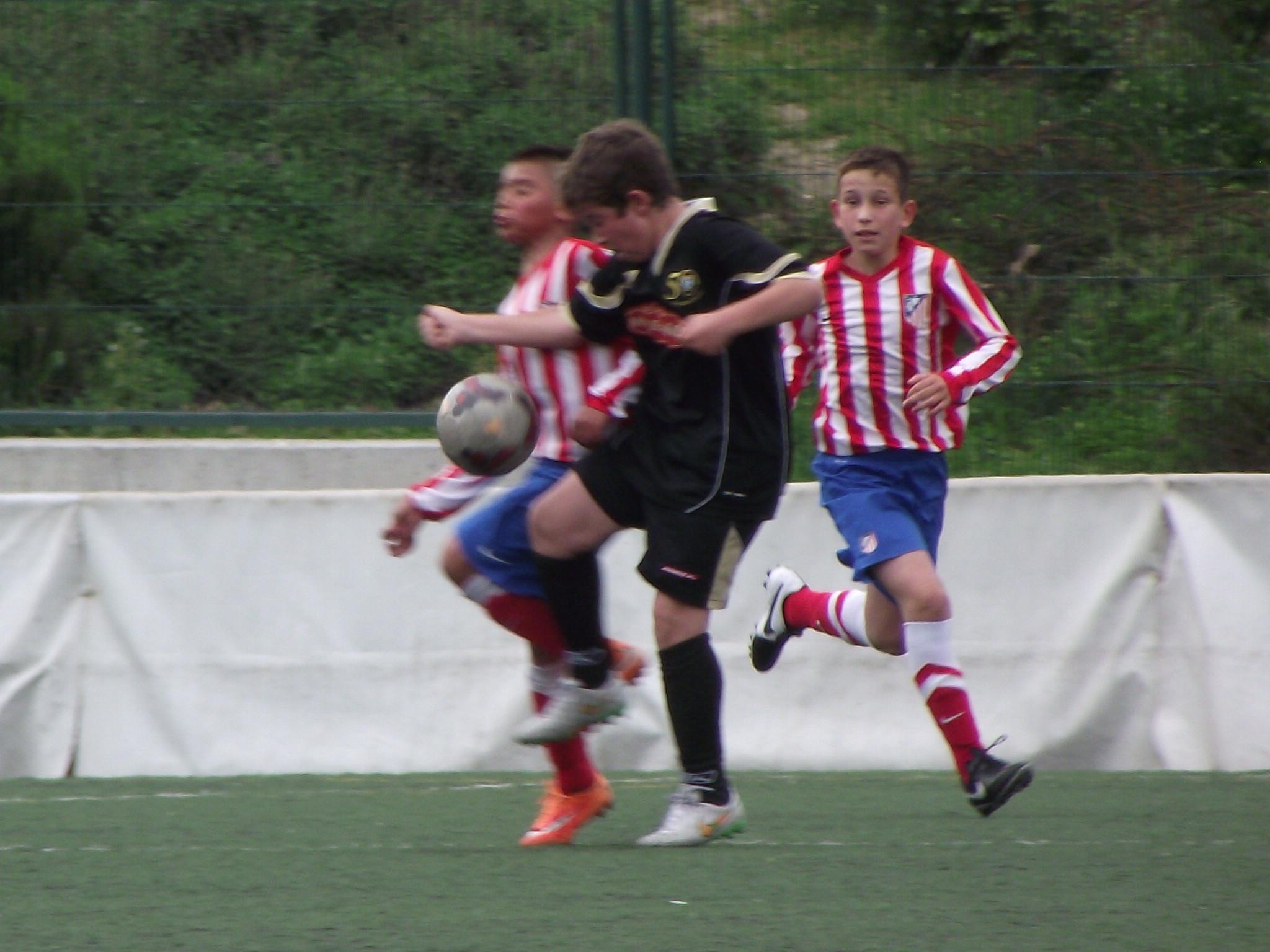 Crónica y fotos del EDM Alevín A 1 – 0 Atlético Madrileño B