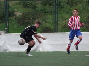 El Alevín A de la EDM derrotó al Atlético Madrileño B por 1-0