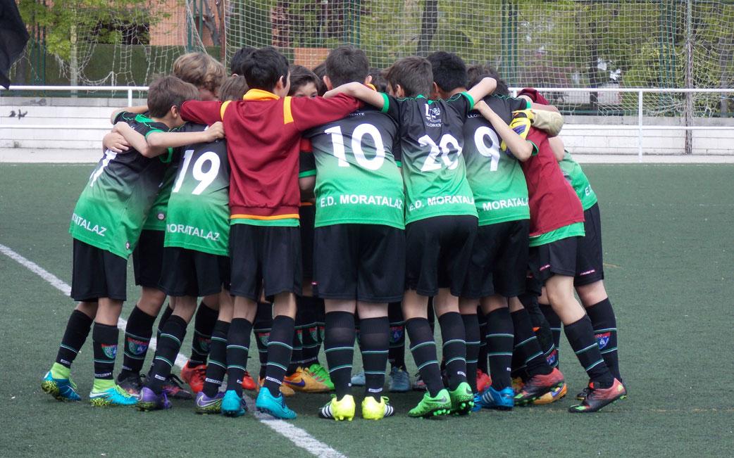 Crónica y fotos del partido de liga EDM Alevín B 1 – 1 CD Coslada C