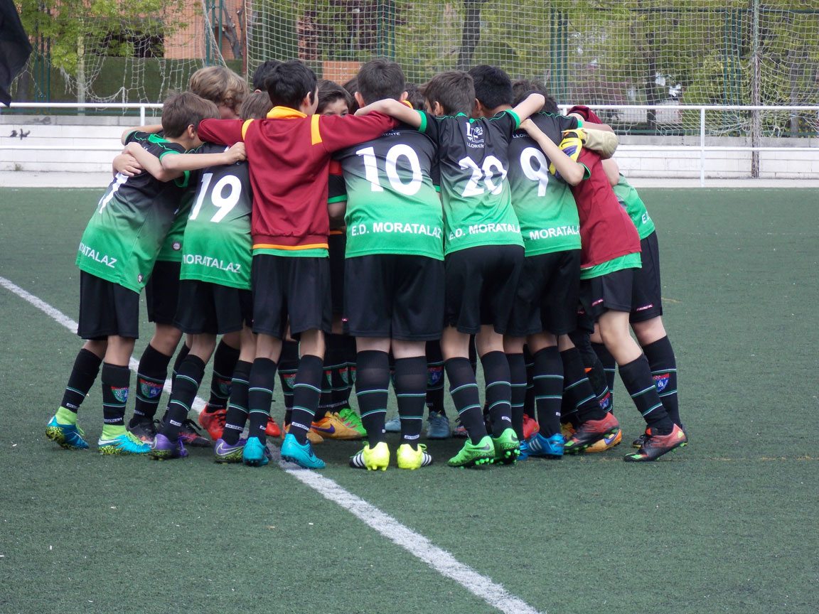 Crónica y fotos del partido de liga Águilas Moratalaz 0 – 1 EDM Infantil B