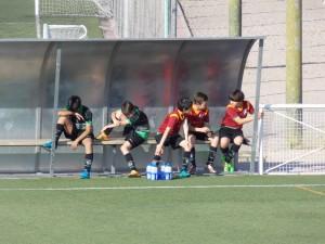 Foto del partido de liga AFE B - EDM Alevín B