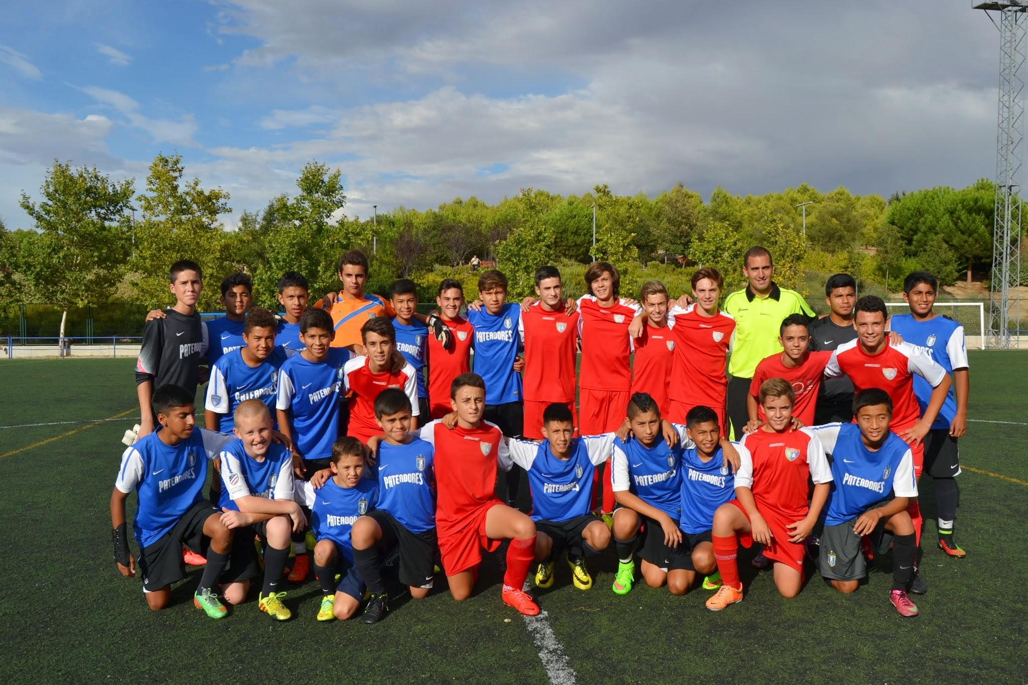 El Cadete B derrota 2-1 al equipo estadounidense de los Pateadores