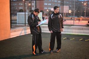 Pani, entrenador del Infantil D