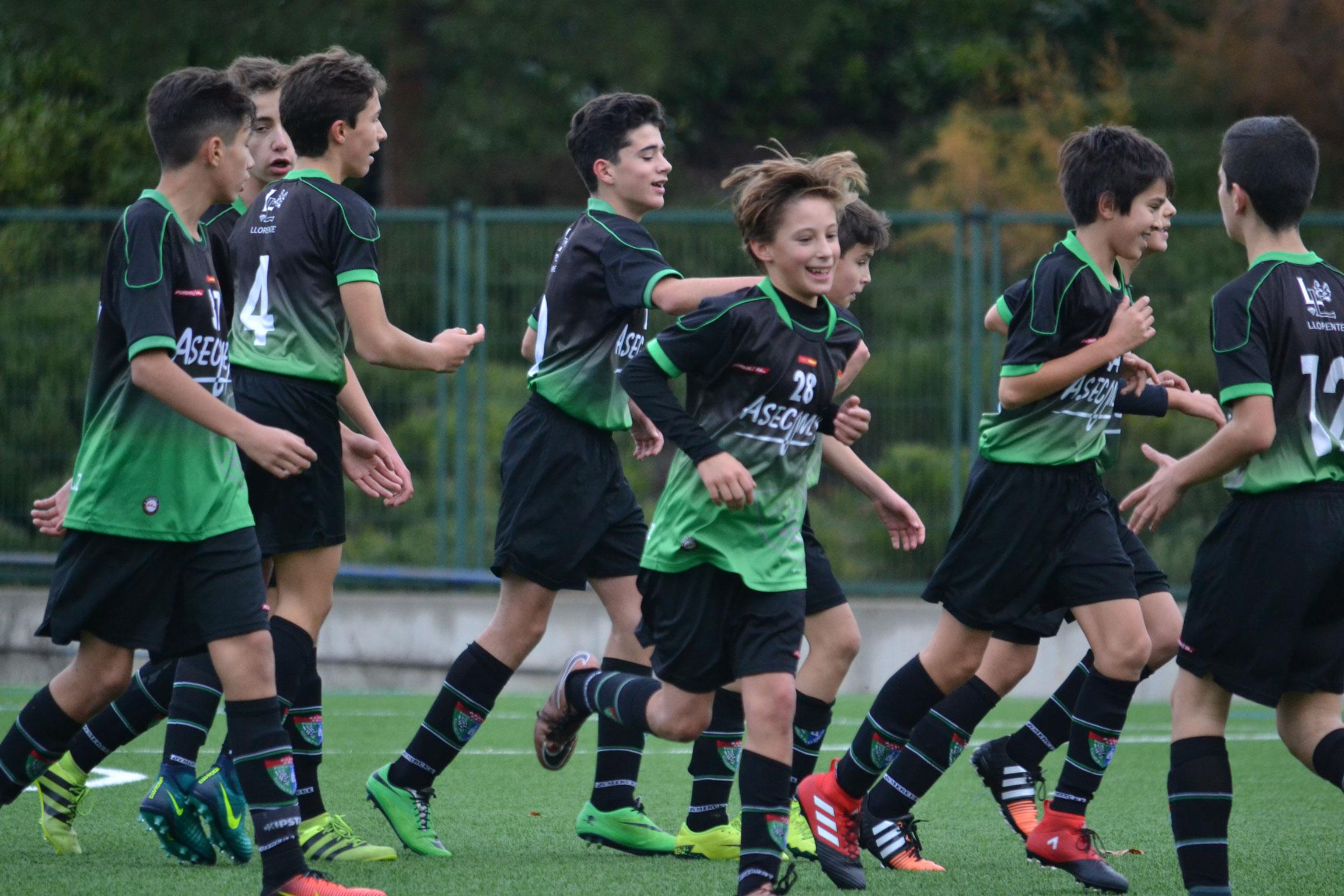 Fotos del partido Infantil A 5-0 EF AV La Chimenea A