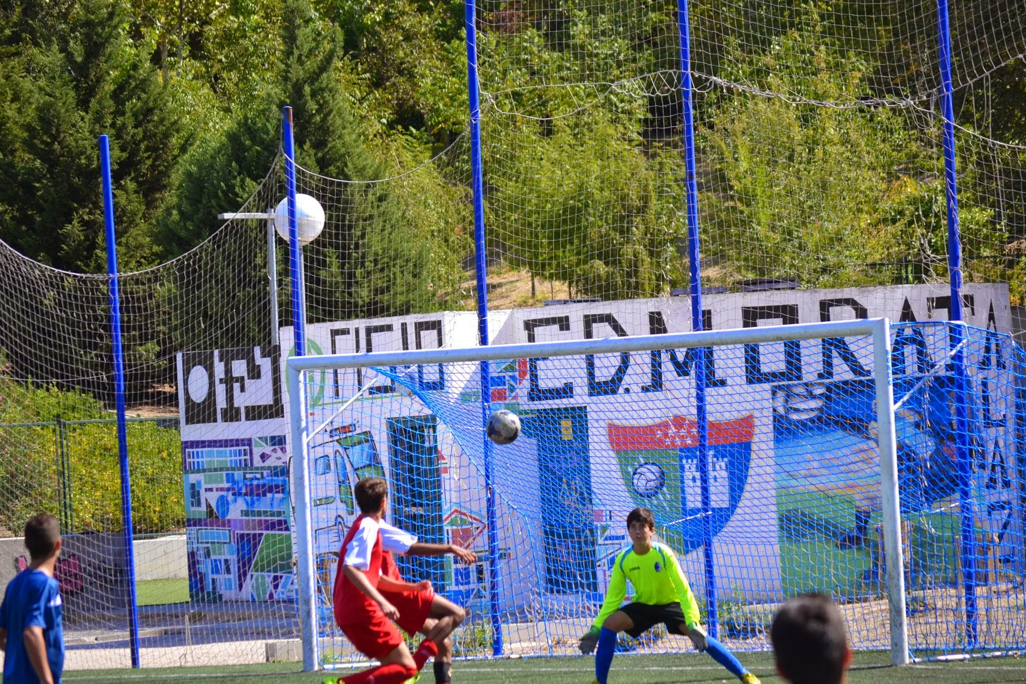 Fotos del partido amistoso disputado por EDM Cadete B contra Las Rozas B (1-3)