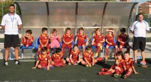Los cinco equipos prebenjamines se estrenaron en la temporada 2016-2017