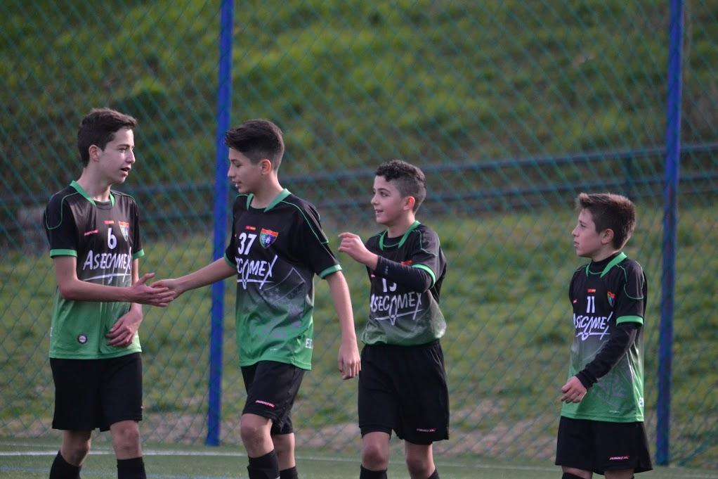 El Infantil A visita mañana Valdebebas para enfrentarse al Infantil B del Real Madrid