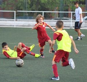 Fotos del partido de liga Palestra ATenea C - EDM Benjamín A