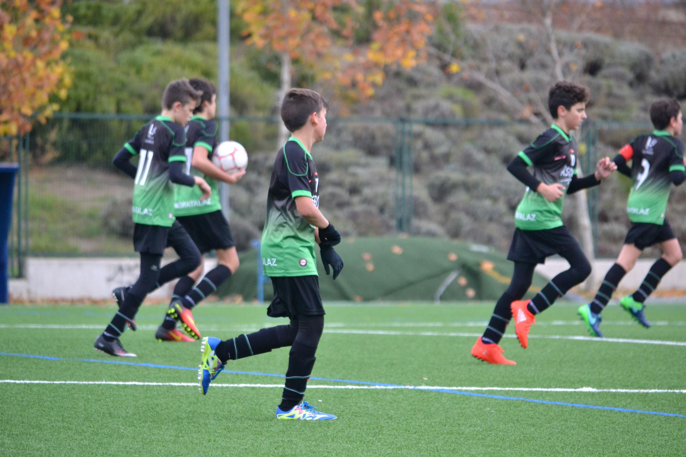 Fotos del partido Infantil B 3 – 4 F. Rayo Vallecano B