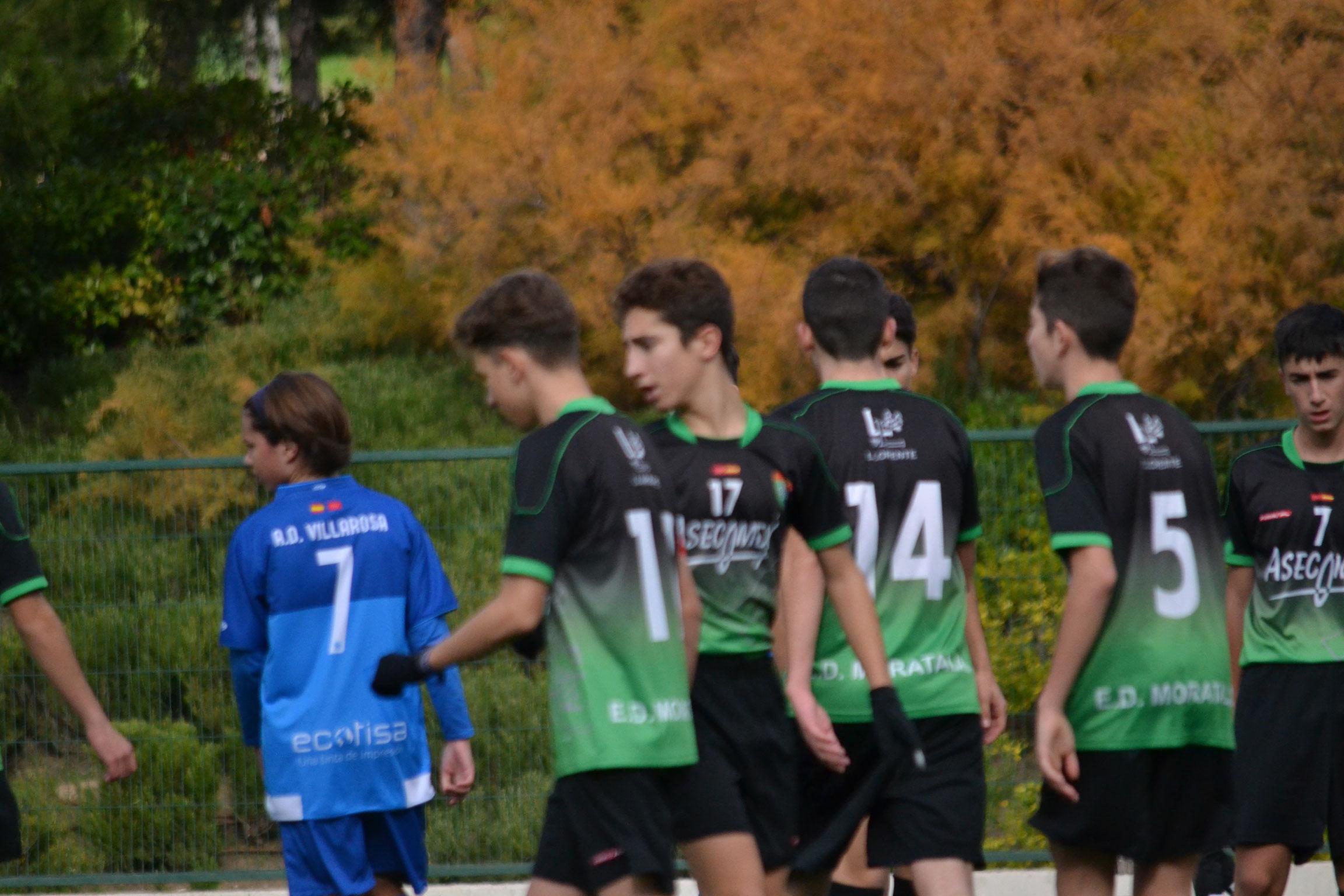 Fotos del partido Cadete B 5 – 1 AD Villa Rosa A