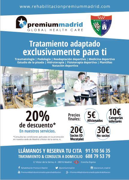 Servicio de Fisioterapia de la Escuela Deportiva Moratalaz