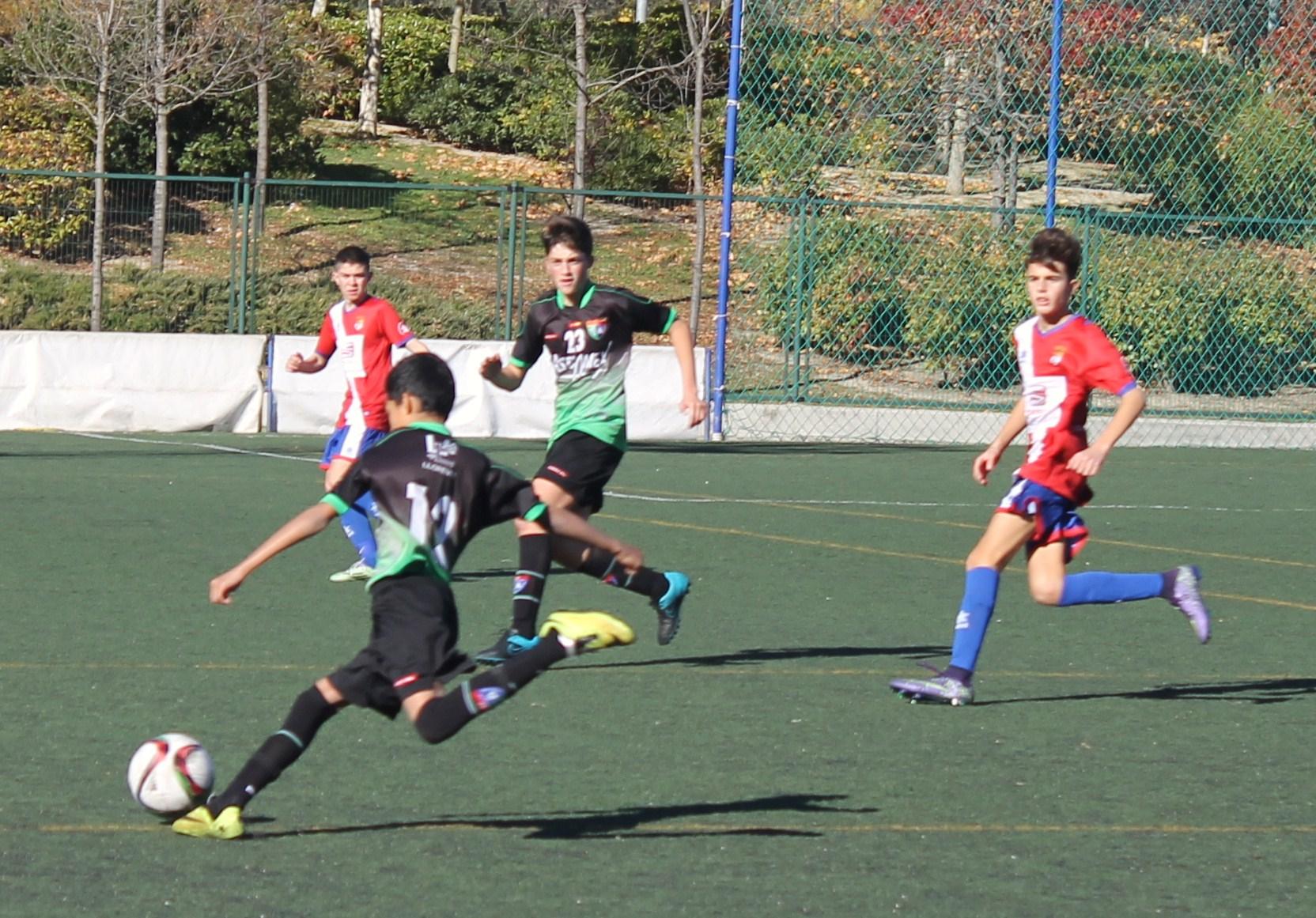 Fotos del partido de liga EDM Infantil A 2 – 3 AD Torrejón A