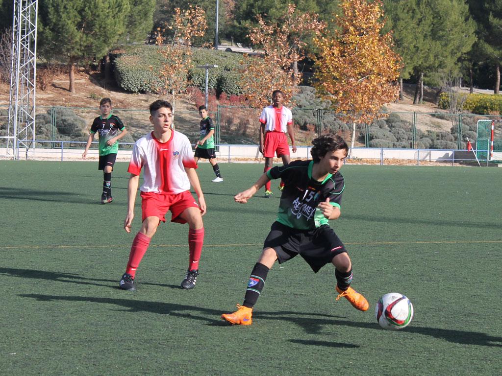 Fotos del partido de liga EDM Infantil A 1 – 0 Complutense Alcalá A