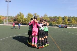 Fotos del partido de liga EDM Infantil A - Alameda de Osuna A