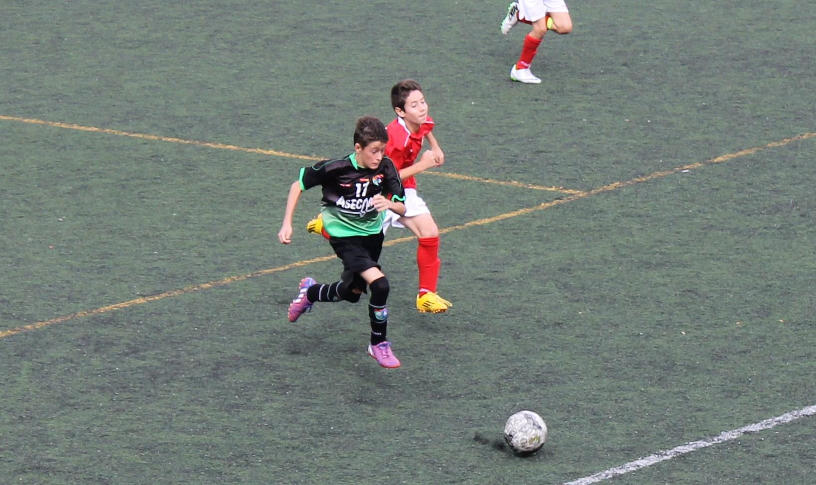 Fotos del partido de liga EDM Infantil A 1 – 0 RSD Alcalá B