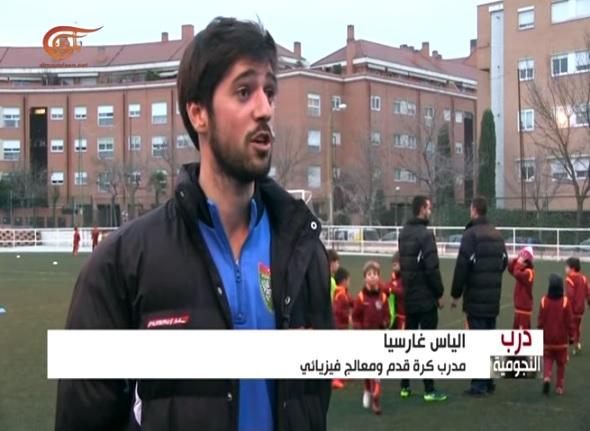 Reportaje en la Televisión árabe sobre la EDM