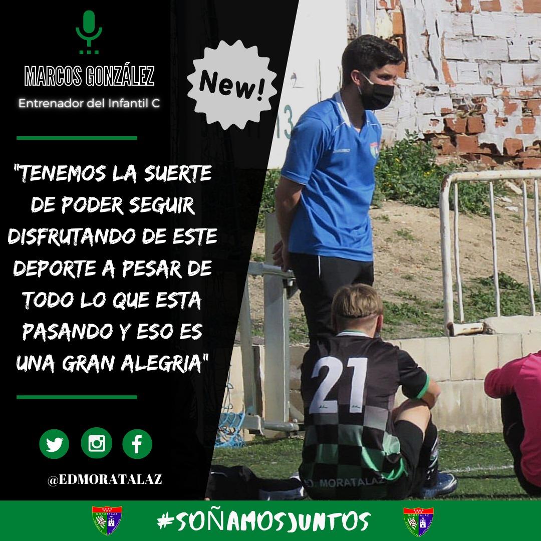 ENTREVISTA   Marcos González: «Tenemos la suerte de poder seguir disfrutando de este deporte a pesar de todo lo que está pasando y eso es una gran alegría»