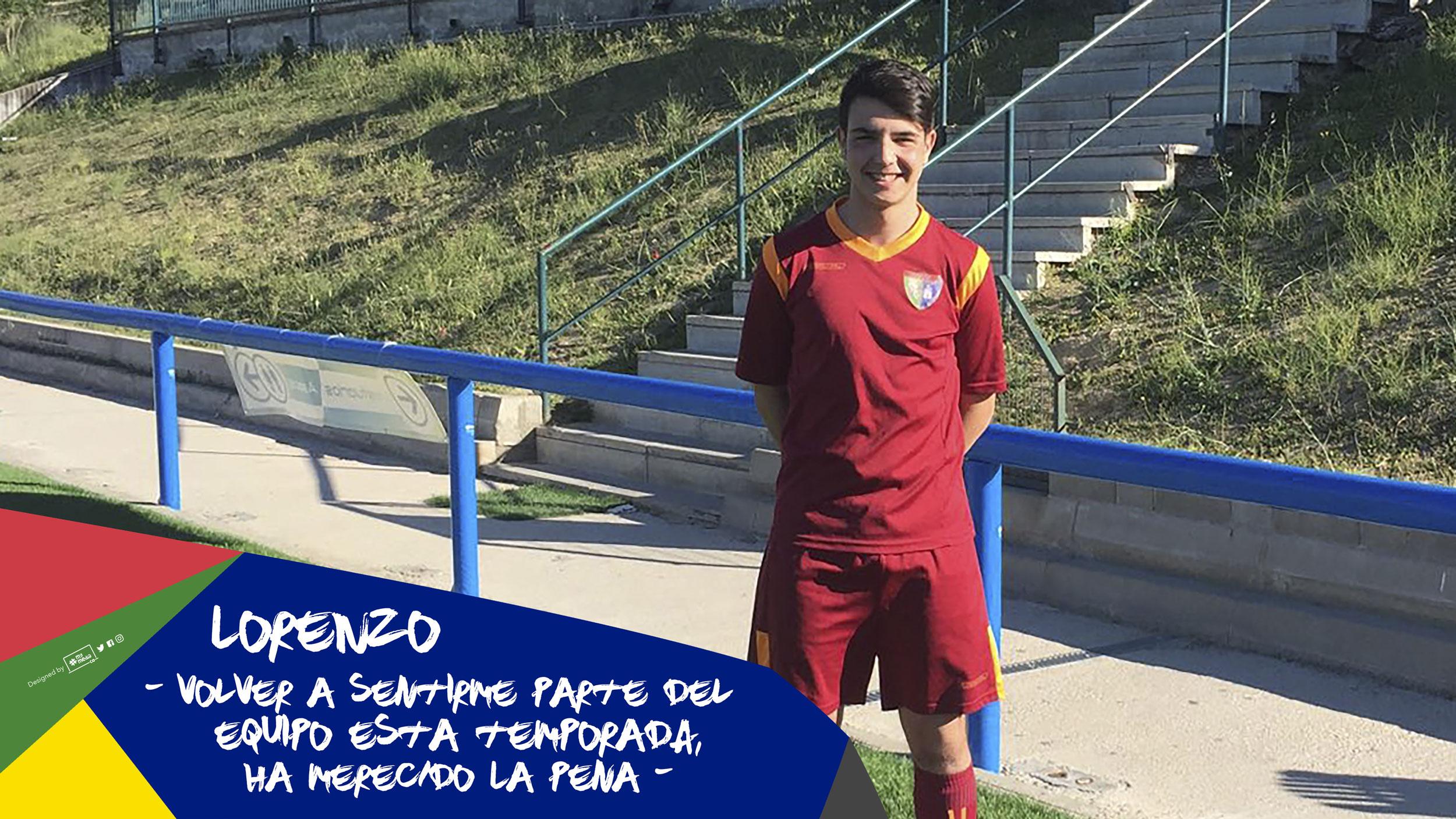 """Lorenzo: """"Volver a sentirme parte del equipo esta temporada, ha merecido la pena"""""""