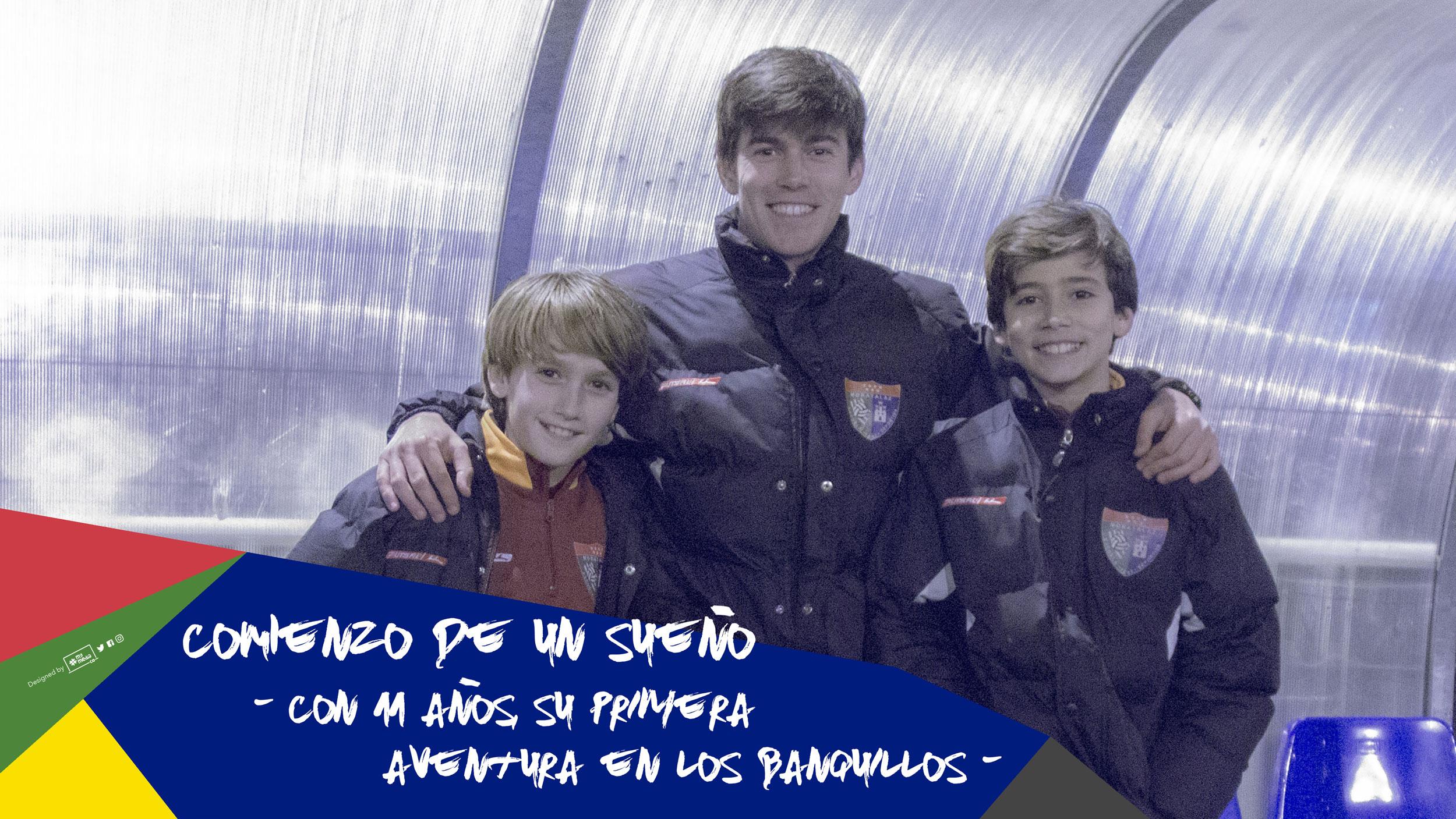 Sergio Mostaza e Íñigo Sustacha, el comienzo de un sueño