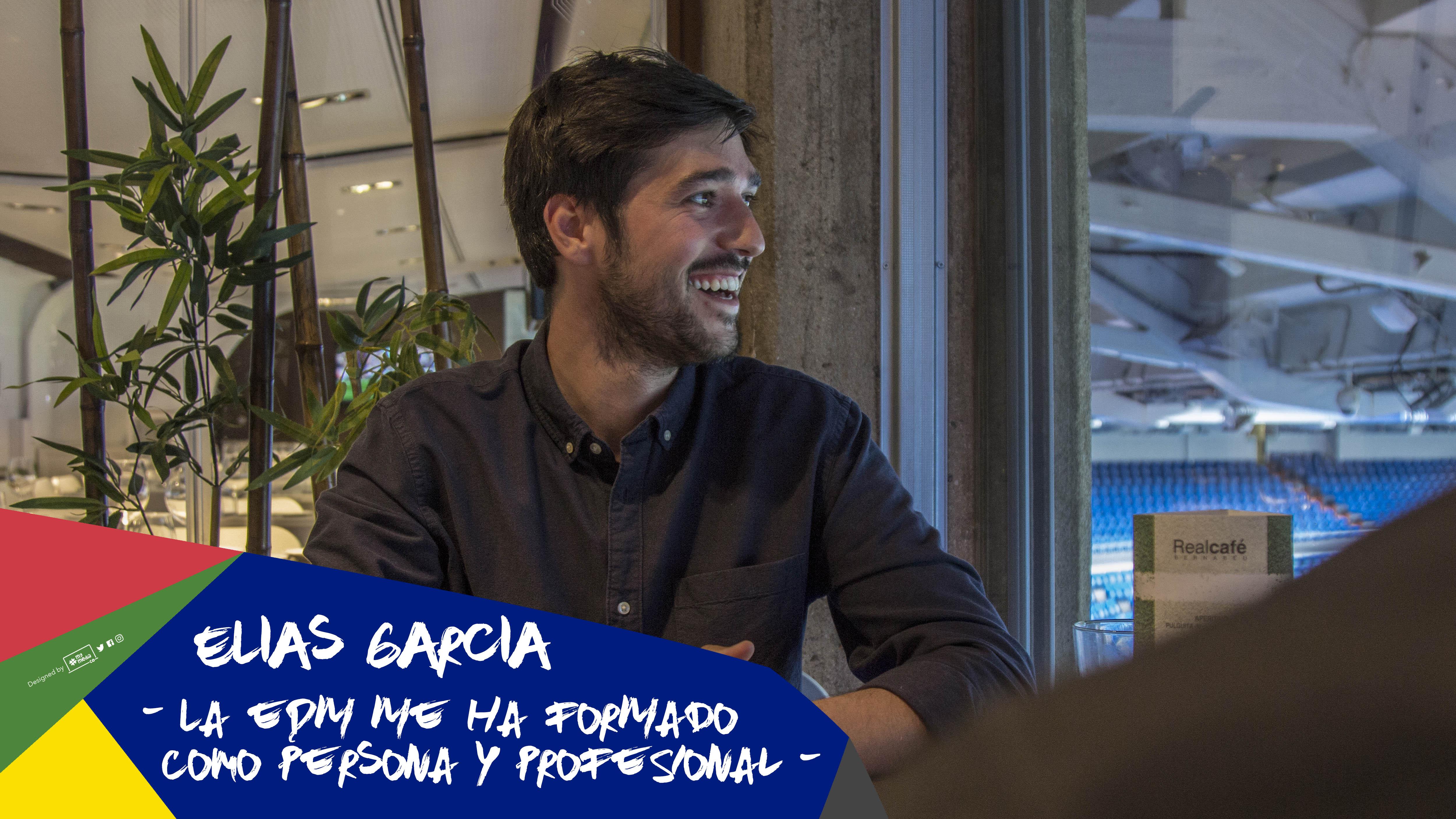 """Elías García: """"La EDM me ha formado como persona y profesional"""""""