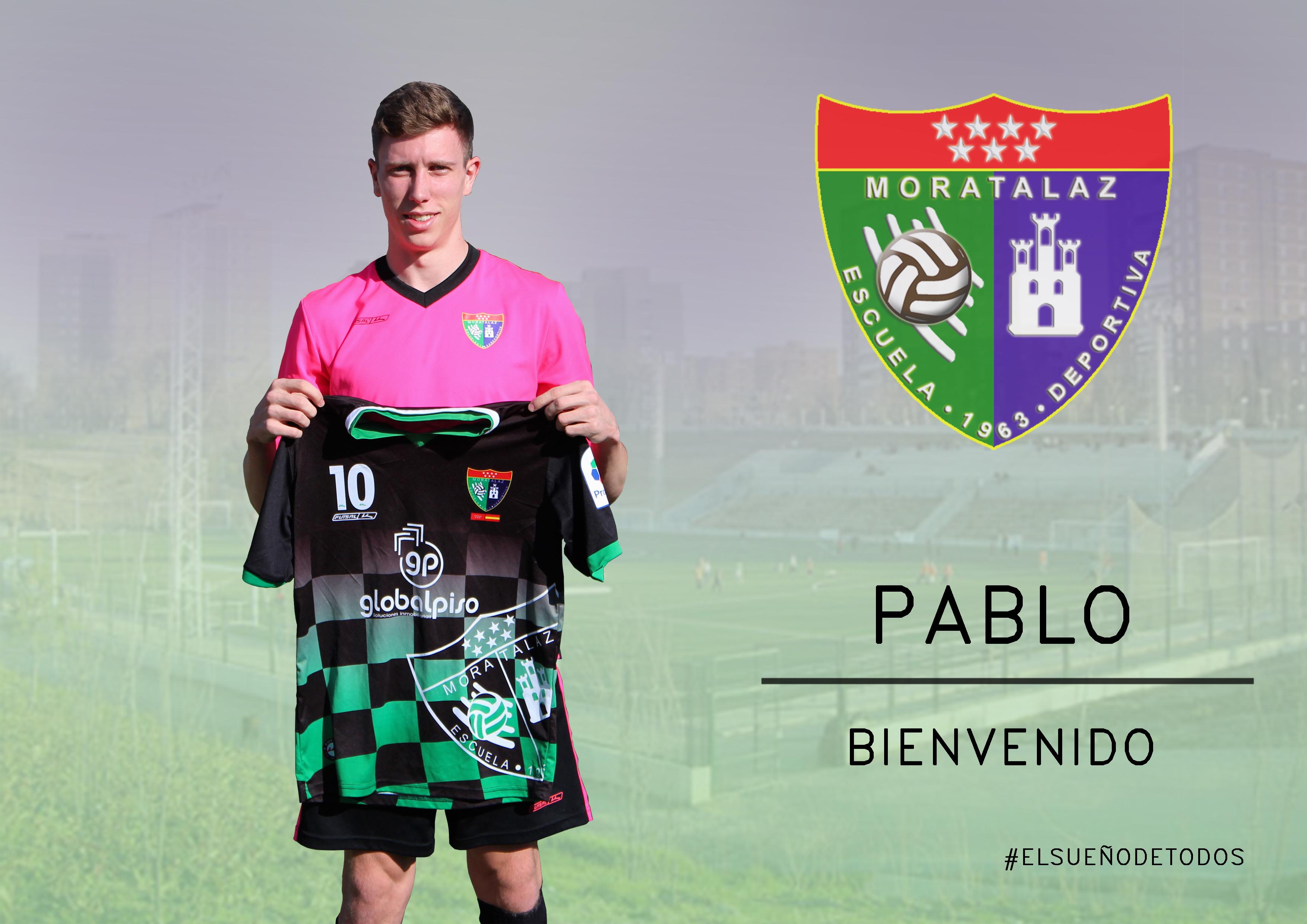 Oficial: Pablo, nuevo jugador de la EDM
