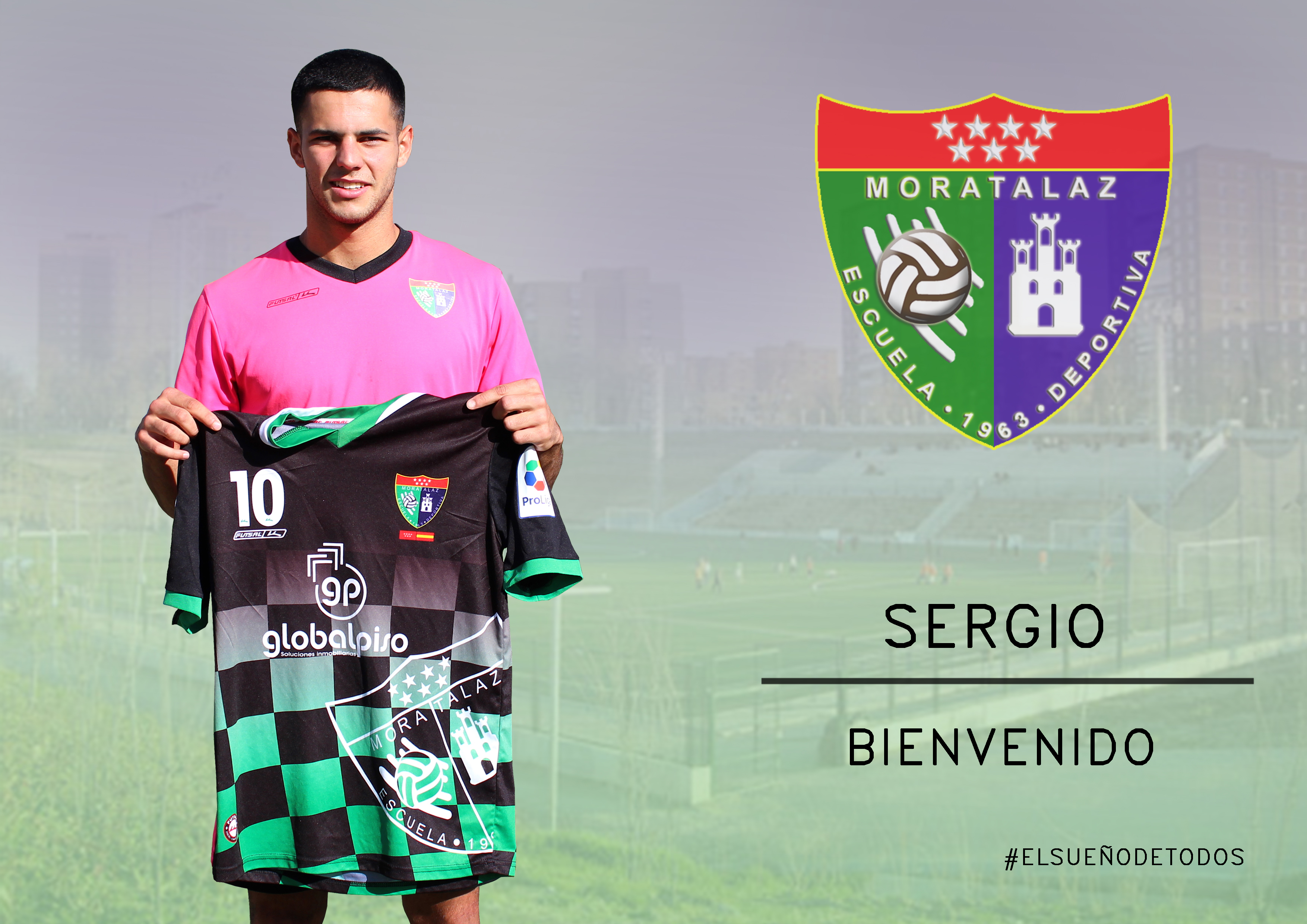 Oficial: Sergio, jugará en el Primer Equipo