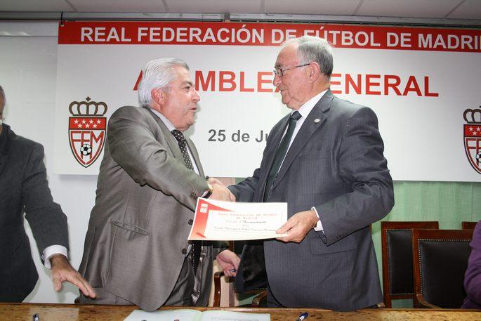 La EDM firma un convenio con la Federación de Fútbol Madrileña de reconocimiento de fútbol base