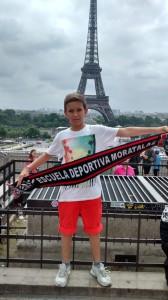 Fran Herrero, desde París