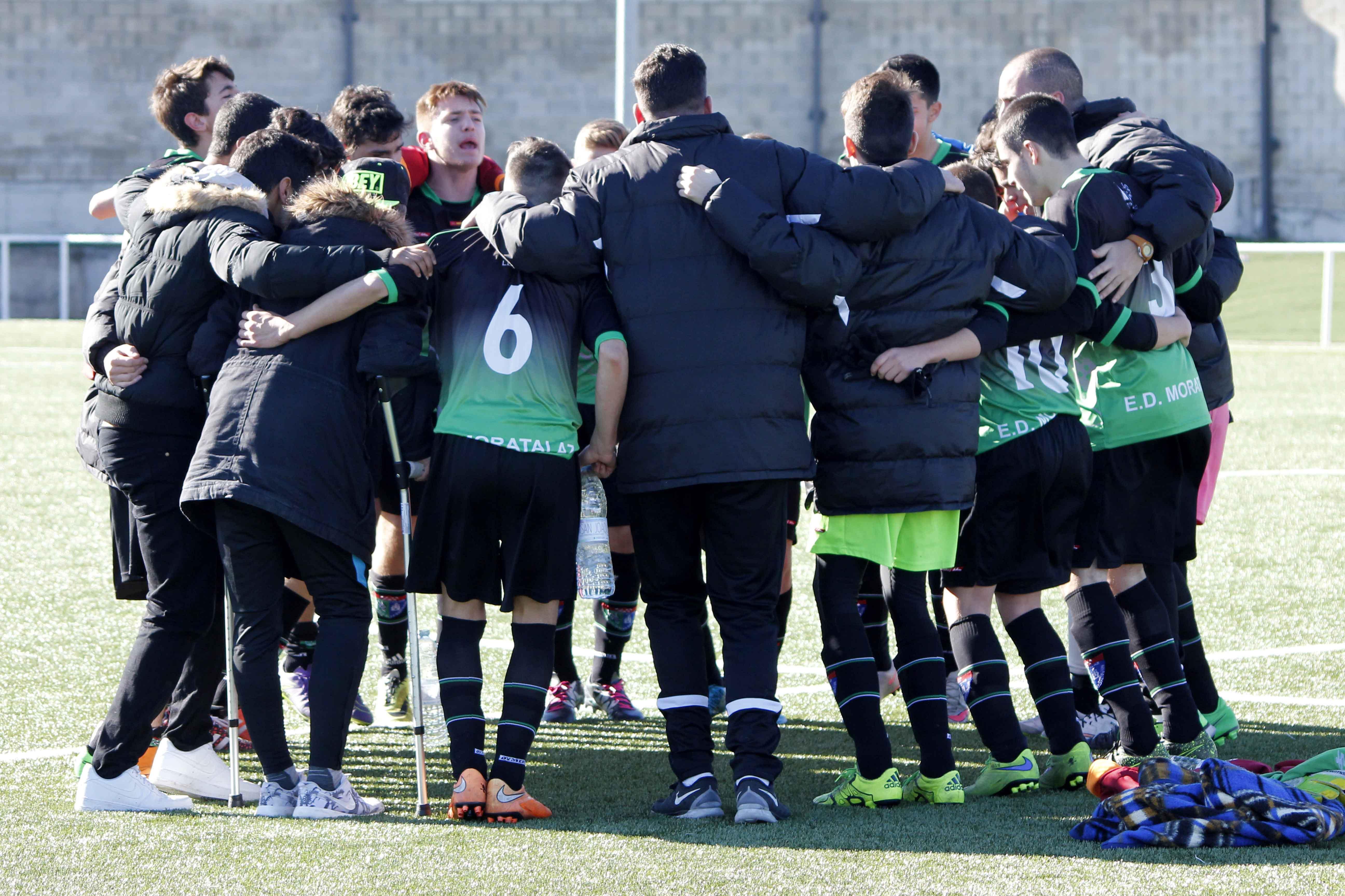 Fotos del partido de liga CF Fuenlabrada A 0 – 1 EDM Cadete A