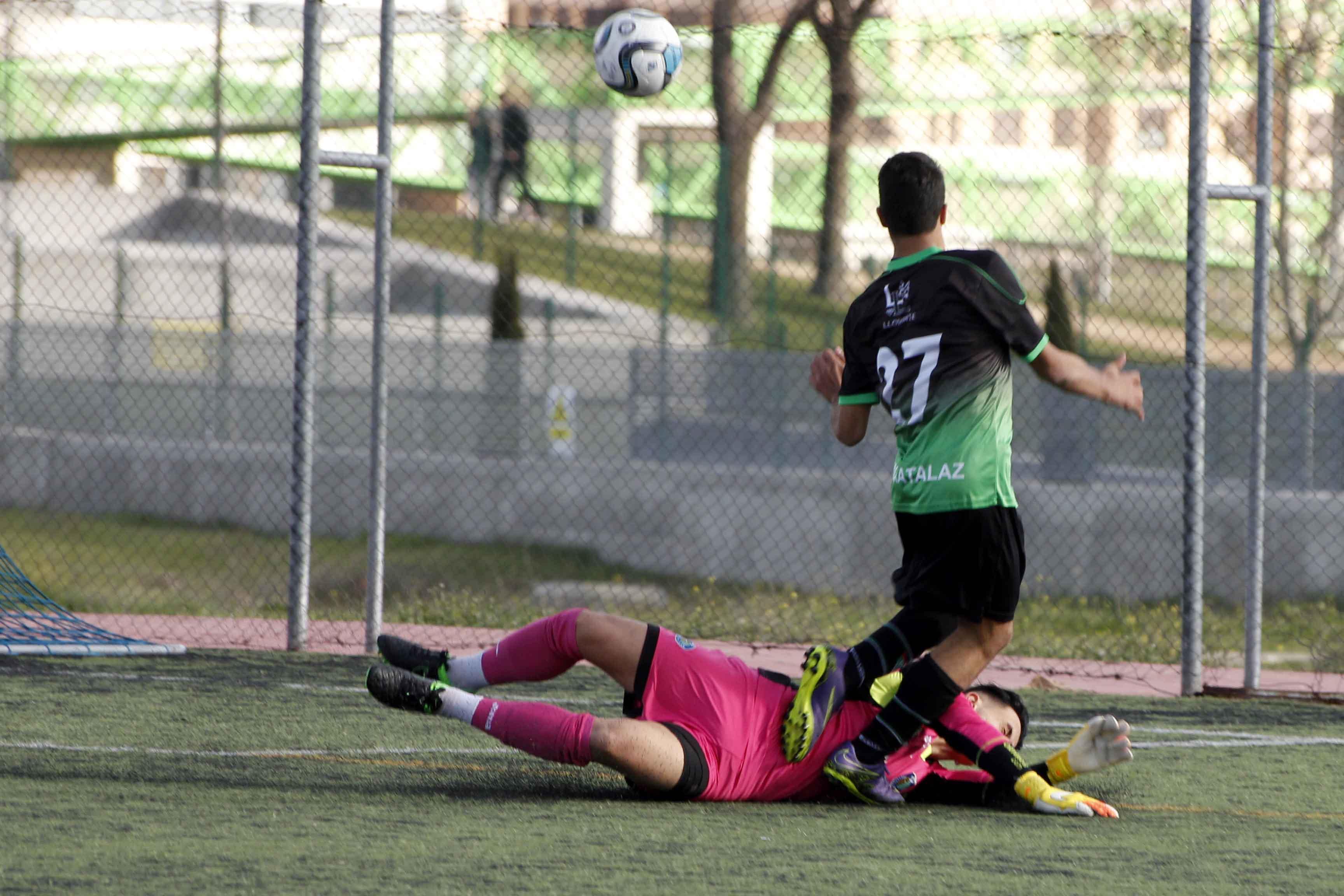 Fotos del partido de liga Getafe A 3 – 0 EDM Cadete A