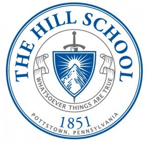 Escudo de The Hill School, que se mide al Juvenil E