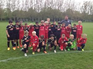 El Infantil B alcanzó la final del torneo de Copenhague