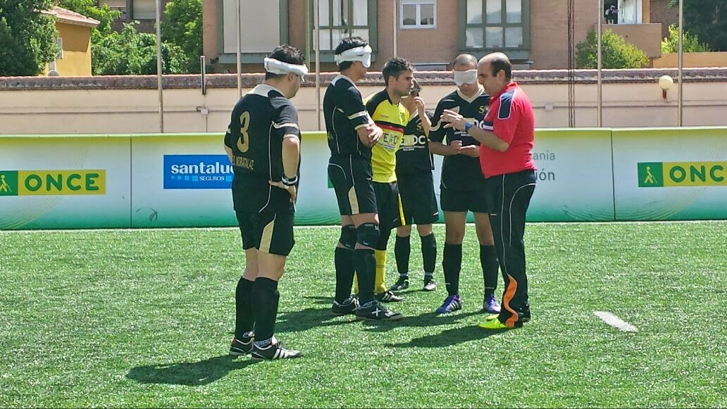 Madrid ONCE Moratalaz disputa el Campeonato de España para ciegos