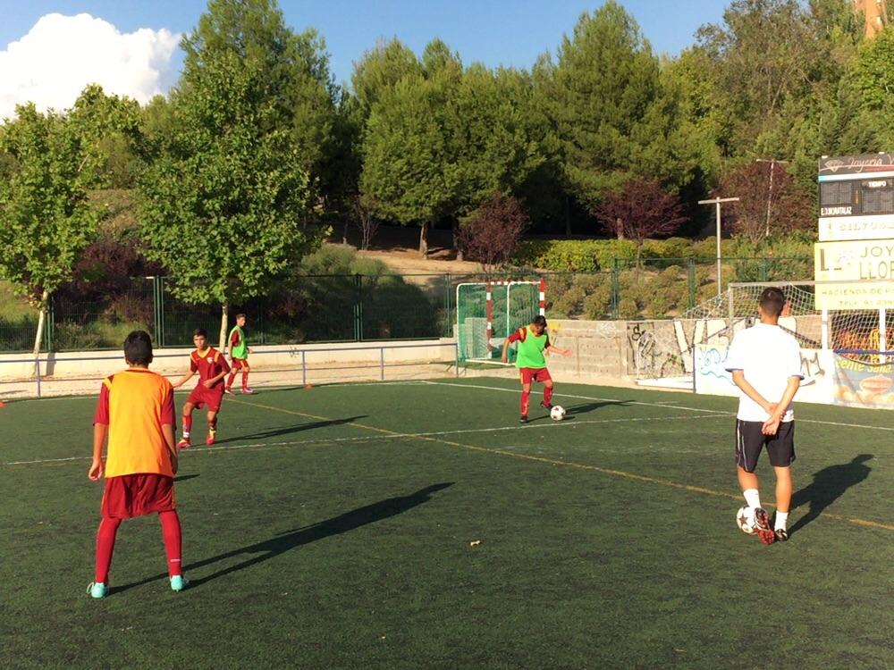Crónica del partido de liga Fundación Rayo Vallecano 0 – 3 EDM Cadete B