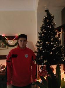 Manu Mneda para el álbum La EDM y la Navidad