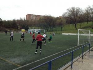Amistoso disputado en la Dehesa con el FC Bondues francés